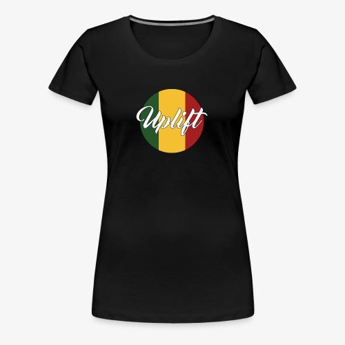 Uplift Rasta Basic // - Women's Premium T-Shirt