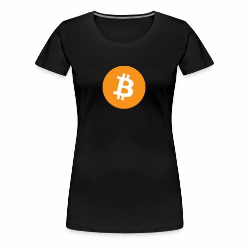 Bitcoin Logo - Women's Premium T-Shirt