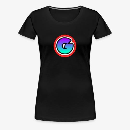 Galaxy Circle Logo - Women's Premium T-Shirt