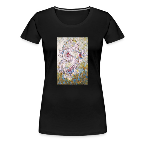 Henna glass - Women's Premium T-Shirt