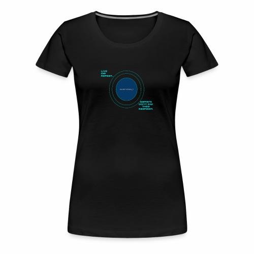MJarvis24 7 v 2 Logo - Women's Premium T-Shirt
