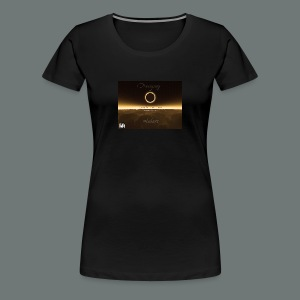 Dannysong Eclipse design Love's Not Dead - Women's Premium T-Shirt