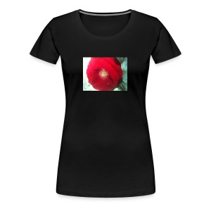 The red flower - Women's Premium T-Shirt
