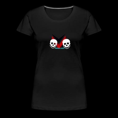 skull of fans - Women's Premium T-Shirt