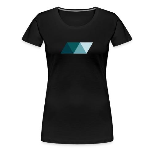 Rhombus 3 - Women's Premium T-Shirt