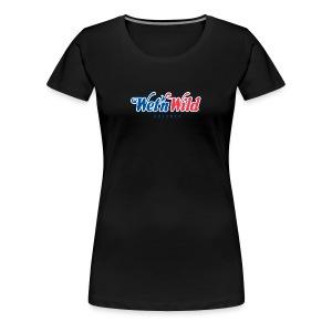 1200px Wet n Wild Orlando logo svgt - Women's Premium T-Shirt
