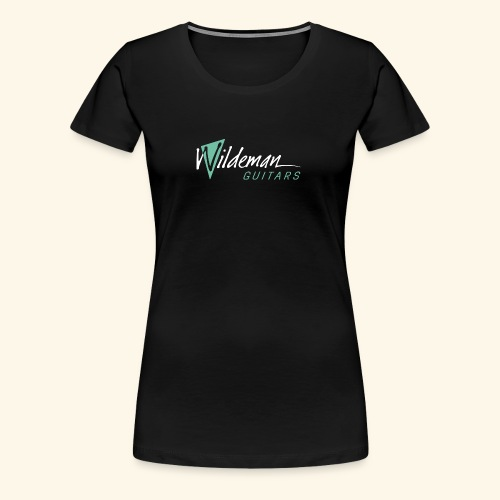 Wildeman Guitars Color Logo - Women's Premium T-Shirt