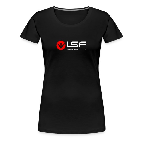 LSF Logo White - Women's Premium T-Shirt