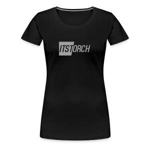ItsTorch simple logo - Women's Premium T-Shirt