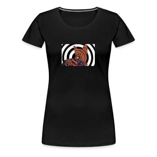 Cat Spiral - Women's Premium T-Shirt