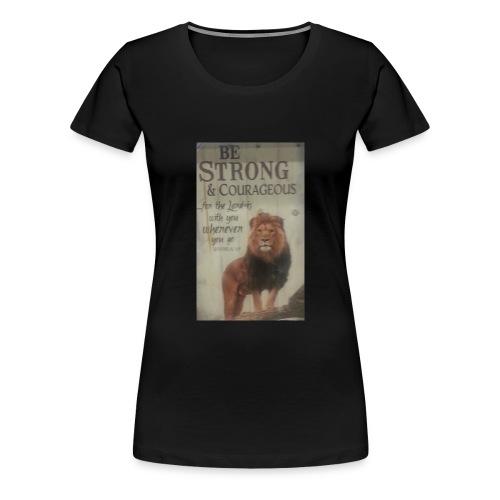 lion updates picture - Women's Premium T-Shirt