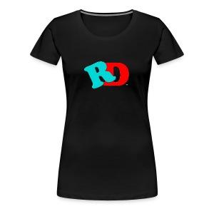 Rocky And Derrick Show logo - Women's Premium T-Shirt