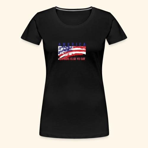 America1 - Women's Premium T-Shirt