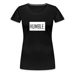 D.RO - HUMBLE. - Women's Premium T-Shirt