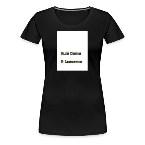 Blue Denim and Lemonade Brand - Women's Premium T-Shirt