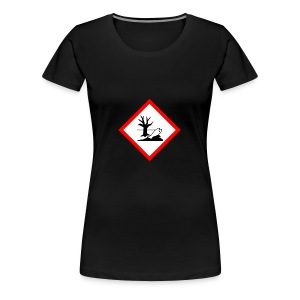 danger for the environment - Women's Premium T-Shirt