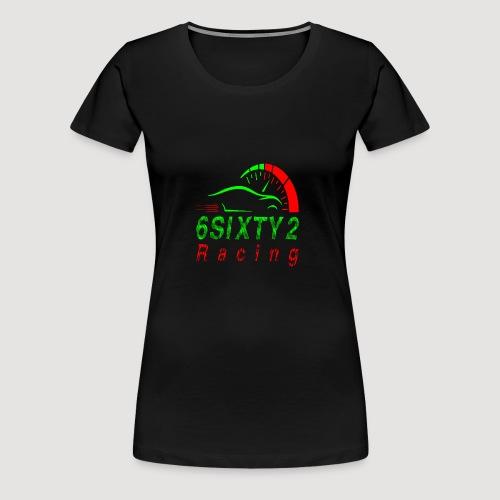 6sixty2 Racing3 MAIN PNG - Women's Premium T-Shirt