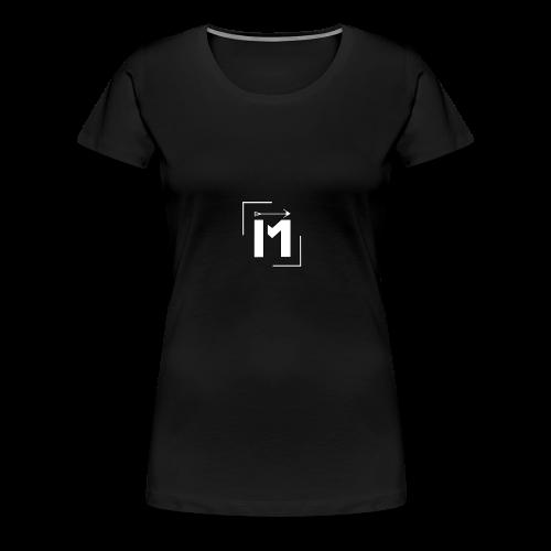 MADE white BrstPKT emblem - Women's Premium T-Shirt