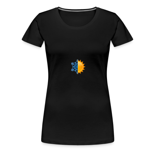 Half-n-Half - Women's Premium T-Shirt