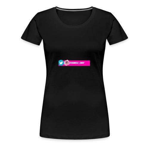 Youtube Social Media Banner - Women's Premium T-Shirt