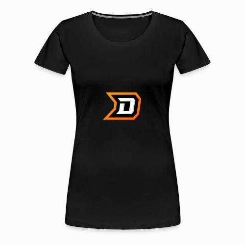 Delvige Logo - Women's Premium T-Shirt