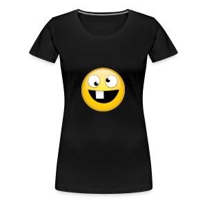 goofy face - Women's Premium T-Shirt