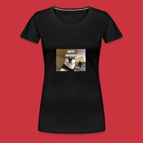 happy birthday - Women's Premium T-Shirt