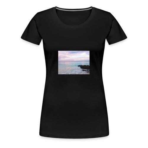 Pastel Beach - Women's Premium T-Shirt
