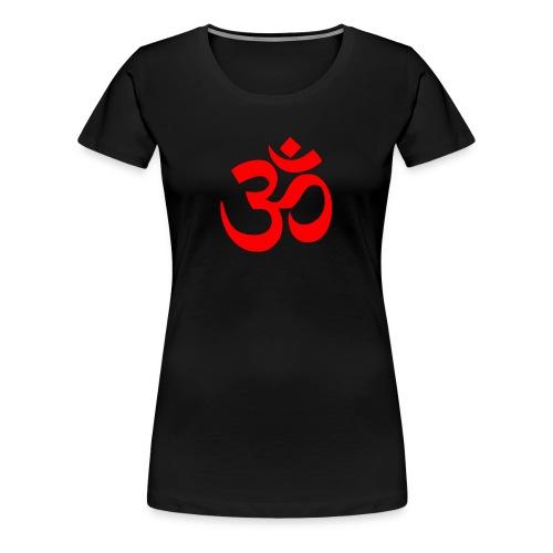 AUM RED - Women's Premium T-Shirt
