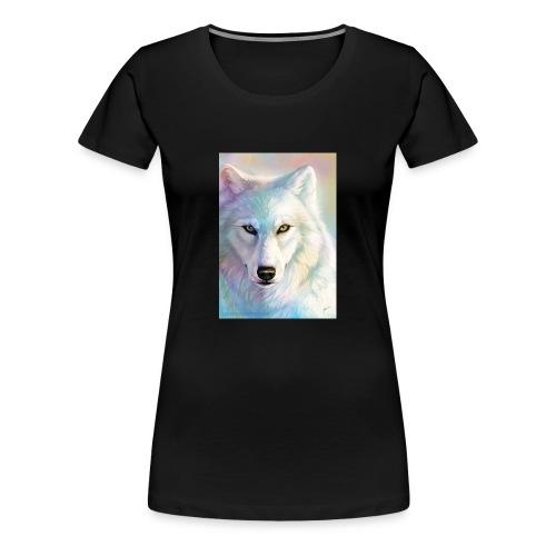 king wolf raindow wolf - Women's Premium T-Shirt