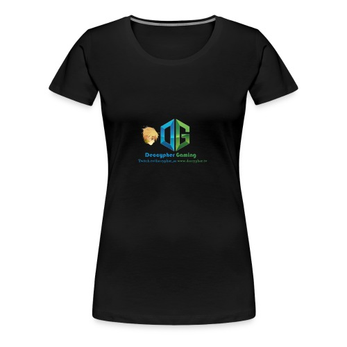 Deccypher Gaming - Women's Premium T-Shirt