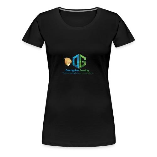 Deccypher Gaming - Women's Premium T-Shirt