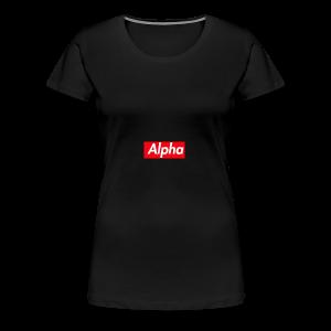 Alpha Squad - Women's Premium T-Shirt