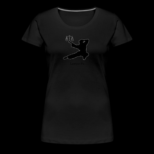Lawyer Fu Name and Logo - Women's Premium T-Shirt