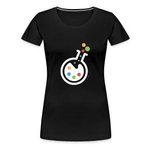 RIMOSA - White Beaker-Only Logo - Women's Premium T-Shirt