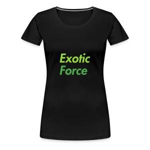 Exotic Force Logo - Women's Premium T-Shirt