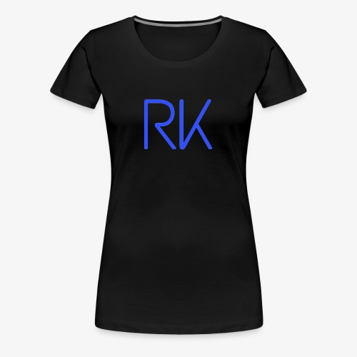 Blue Chill RK - Women's Premium T-Shirt