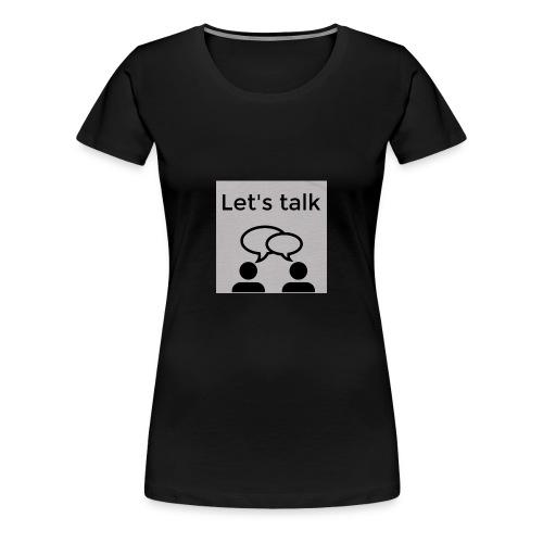 Let's talk design - Women's Premium T-Shirt