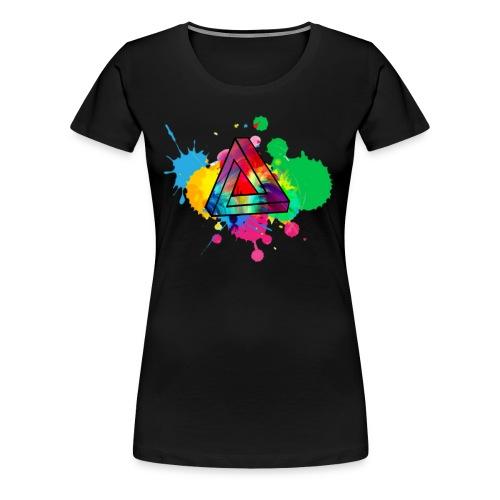 PAINT SPLASH - Women's Premium T-Shirt
