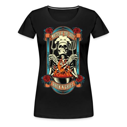Grill master - Women's Premium T-Shirt