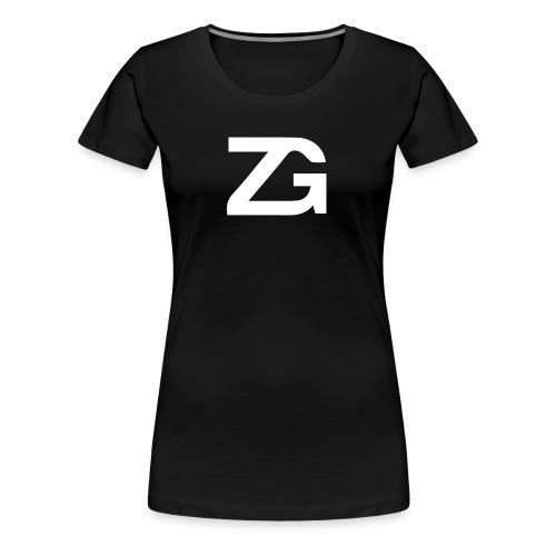 Zane Golas Large Logo - Women's Premium T-Shirt