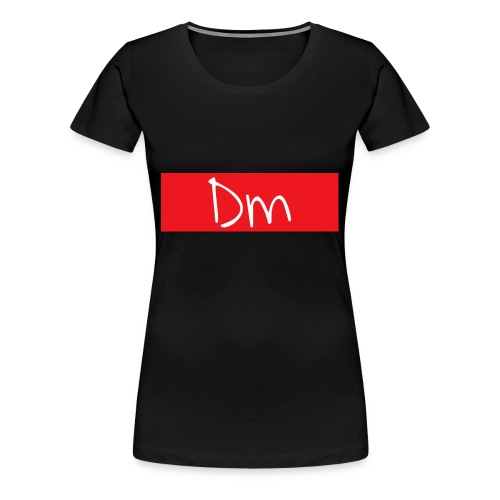 Dm Box Logo - Women's Premium T-Shirt