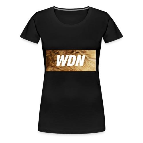 WDN boi - Women's Premium T-Shirt