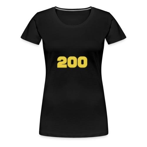 200 Subscriber Merch!!! - Women's Premium T-Shirt