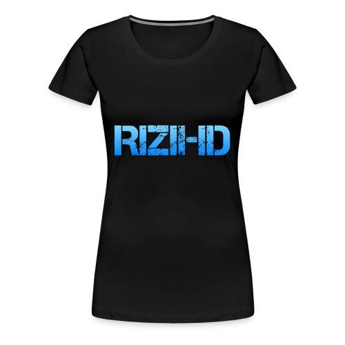 RiziHD shirt - Women's Premium T-Shirt