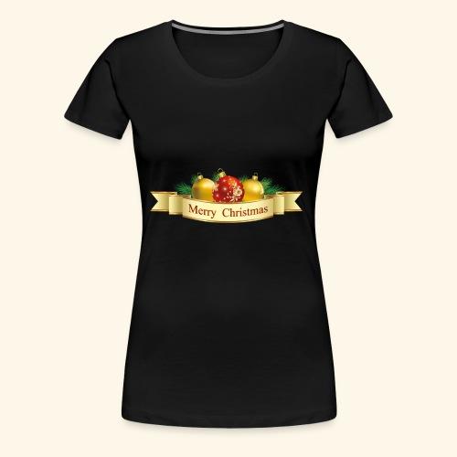 Merry Christmas To All - Women's Premium T-Shirt