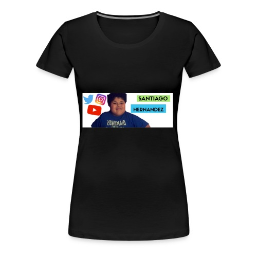 Santiago social media - Women's Premium T-Shirt