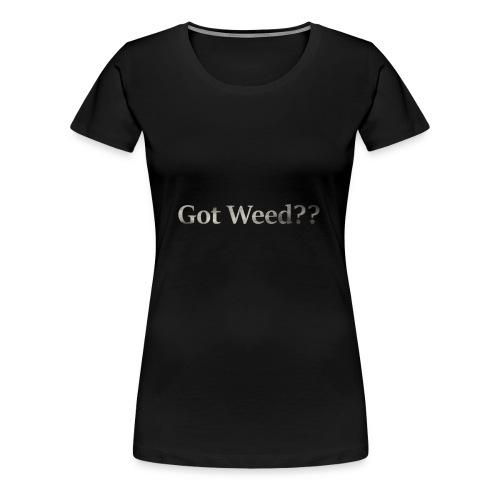smokeText - Women's Premium T-Shirt