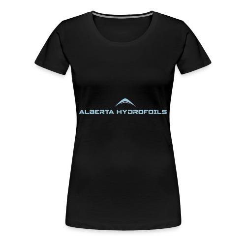 Alberta Hydrofoils - Basics - Women's Premium T-Shirt