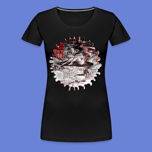 A Sleepy World NO 2 - Women's Premium T-Shirt